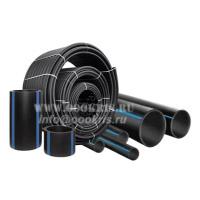 Трубы ПНД Полиэтиленовые ПЭ100 SDR 7,4 (PN25) напорные ГОСТ 18599-2001
