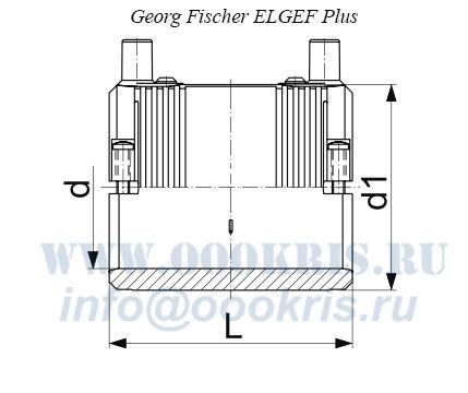 Муфта электросварная ПЭ100 д.63