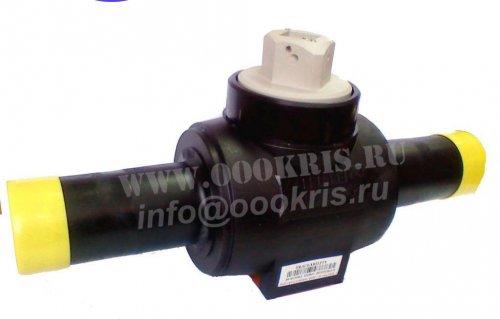 Шаровый кран ПЭ100 SDR11 d63
