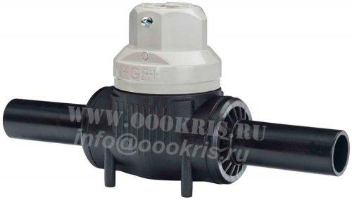 Шаровый кран ПЭ100 SDR11 d125