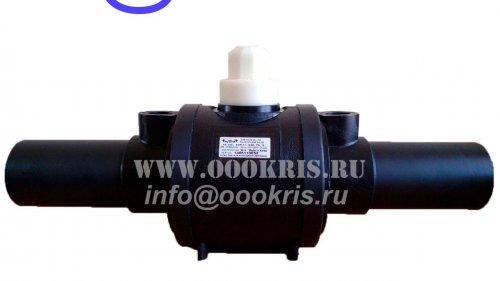 Шаровый кран ПЭ100 SDR11 d140
