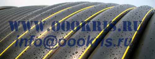 ТРУБА ГАЗОВАЯ ПНД ГОСТ Р 50838 - 2009 ПЭ100 SDR9; SDR11; SDR17; SDR17,6 д.125мм.