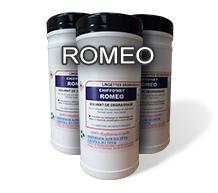 Салфетки для обезжиривания полиэтиленовых (ПНД) труб ROMEO