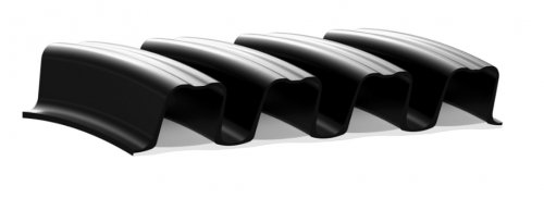 Труба гофрированная Корсис DN/OD 250 SN8