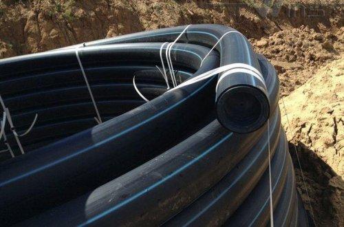 Труба ПНД Полиэтиленовая DN 90 ПЭ 100 SDR 11 (PN16) для водоснабжения