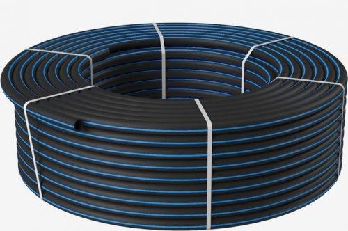 Труба ПНД Полиэтиленовая 40 ПЭ100 SDR 17 (PN10) для водоснабжения
