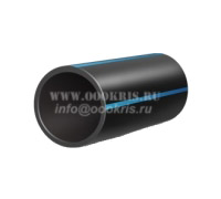 Труба ПНД Полиэтиленовая 140 ПЭ100 SDR 17 (PN10) для водоснабжения